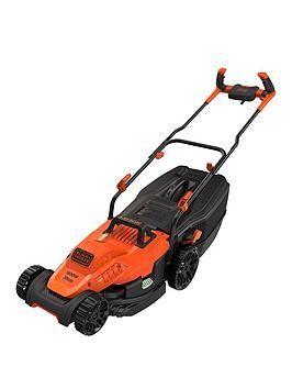 Save £20 at Very on Black & Decker 1600-Watt 38Cm Lawnmower With Bike Handle Controls