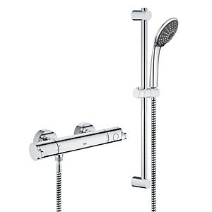 Save £30 at Wickes on Grohe Wave Cosmo Thermostatic Mixer Shower - Chrome