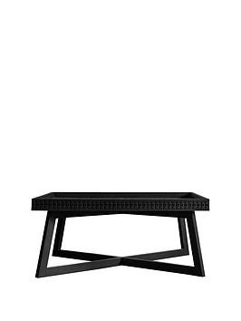 Save £50 at Very on Hudson Living Boho Boutique Coffee Table - Black