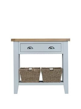 Save £50 at Very on K-Interiors Harrow Part Assembled Console Table - Grey/Oak