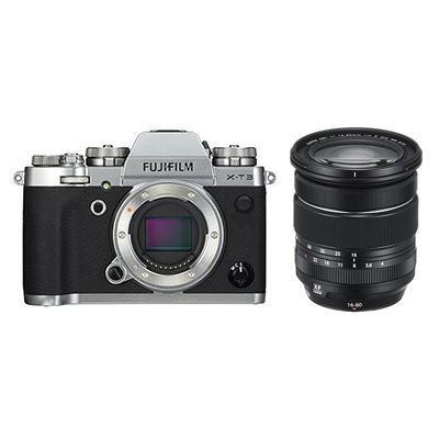 Save £180 at WEX Photo Video on Fujifilm X-T3 Digital Camera with XF 16-80mm Lens - Silver