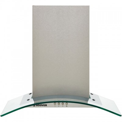 Save £21 at AO on Hoover H-HOOD 300 HGM600X 60 cm Chimney Cooker Hood - Stainless Steel / Glass - C Rated