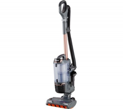 Save £120 at Currys on Shark DuoClean Lift-Away True Pet NV700UKT Upright Bagless Vacuum Cleaner - Grey & Rose Gold, Grey