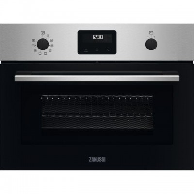 Save £70 at AO on Zanussi ZVENM6X1 Built In Compact Electric Single Oven with Microwave Function - Stainless Steel