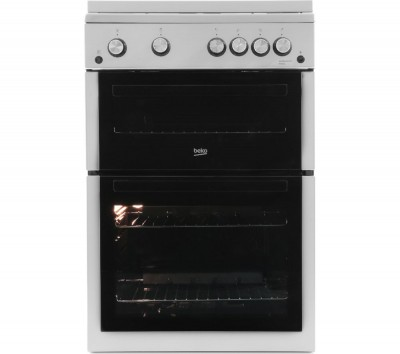 Save £71 at Currys on BEKO XTG611S 60 cm Gas Cooker - Silver, Silver