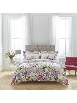 Save £30 at Very on Dorma Botanical Border 100% Cotton Sateen Duvet Cover