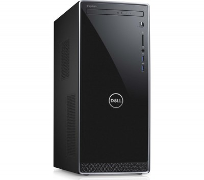 Save £50 at Currys on DELL Inspiron 3670 Intelu0026regCore™ i3 Desktop PC - 1 TB HDD, Black & Silver, Black
