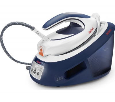 Save £70 at Currys on Express Anti-Scale SV8053 Steam Generator Iron - Blue and White, Blue