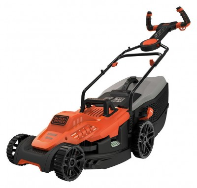 Save £20 at Argos on Black + Decker 38cm Corded Lawnmower with EasySteer - 1600W