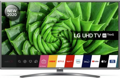 Save £50 at Argos on LG 43 Inch 43UN8100 Smart 4K Ultra HD LED TV with HDR