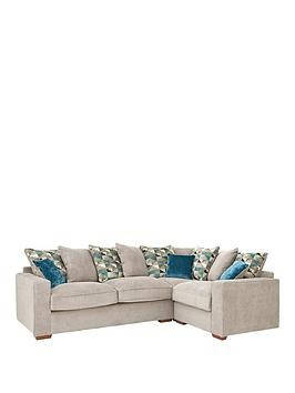 Save £130 at Very on Miller Fabric Right Hand Corner Group Scatter Back Sofa