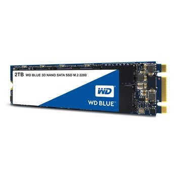 Save £24 at Scan on WD 2TB Blue M.2 SATA 3D NAND SSD/Solid State Drive
