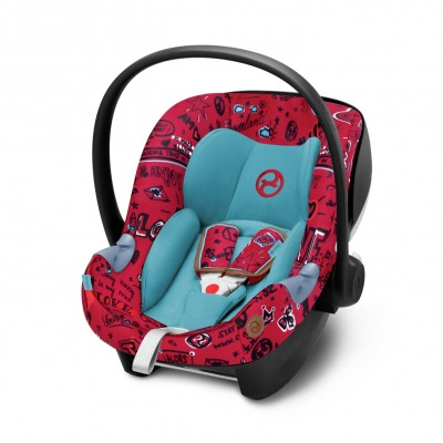 Save £16 at Argos on Cybex Aton M Group 0+ i-Size Car Seat - Love Red