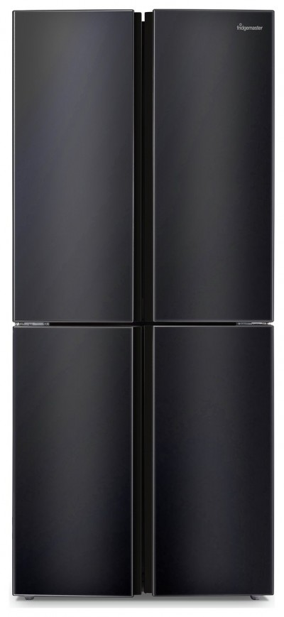 Save £120 at Argos on Fridgemaster MQ79394FFB American Fridge Freezer - Black