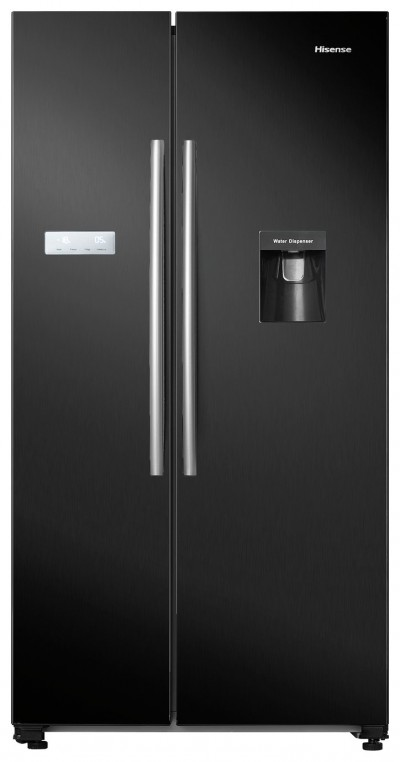 Save £100 at Argos on Hisense RS741N4WB11 American Fridge Freezer - Black