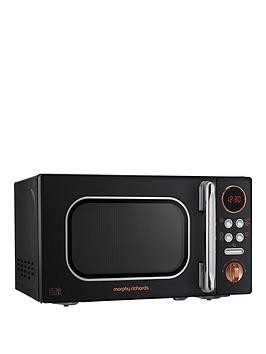 Save £27 at Very on Morphy Richards 800W 20-Litre Microwave - Black Gold