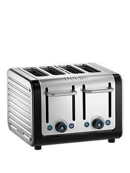 Save £21 at Very on Dualit Architect 4 Slice Toaster - Black  Brushed Metal
