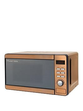 Save £10 at Very on Russell Hobbs Rhmd804Cp 17-Litre Digital Microwave - Copper