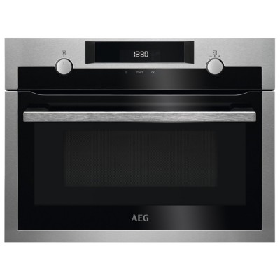 Save £90 at Appliance City on AEG KME525800M Built In Microwave & Grill For Tall Housing - STAINLESS STEEL