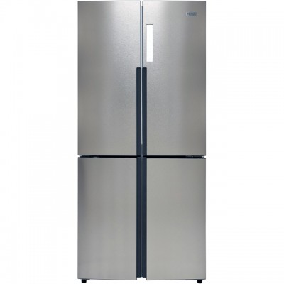 Save £100 at AO on Haier HTF-556DP6 American Fridge Freezer - Silver - A+ Rated