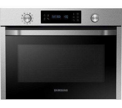 Save £90 at Currys on SAMSUNG NQ50J3530BS/EU Built-in Combination Microwave - Stainless Steel, Stainless Steel