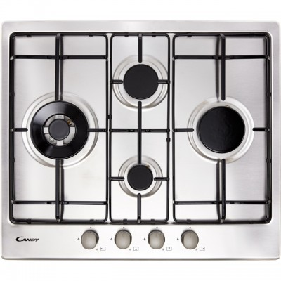 Save £40 at AO on Candy CHW6D4WX 60cm Gas Hob - Stainless Steel