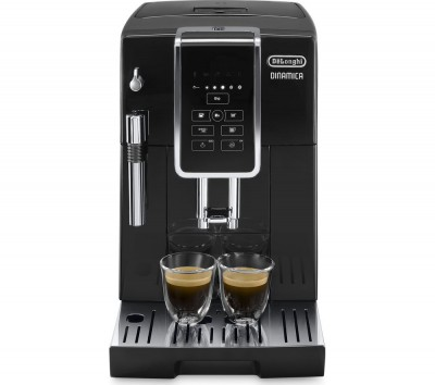 Save £350 at Currys on DELONGHI Dinamica ECAM 350.15B Bean to Cup Coffee Machine - Black, Black