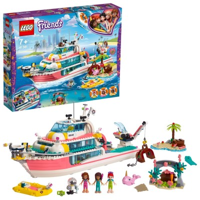 Save £40 at Argos on LEGO Friends Rescue Mission Boat - 41381