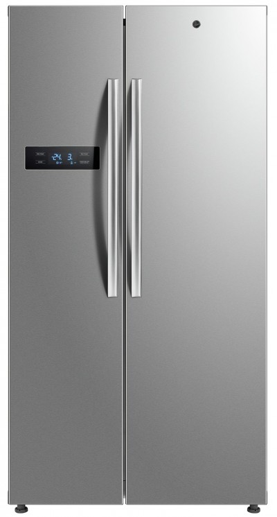 Save £145 at Argos on Hoover HSBSF178MIK American Fridge Freezer - Stainless Steel