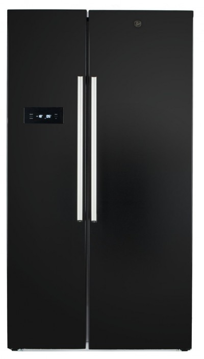Save £145 at Argos on Hoover HSBSF 178MBK American Fridge Freezer - Black