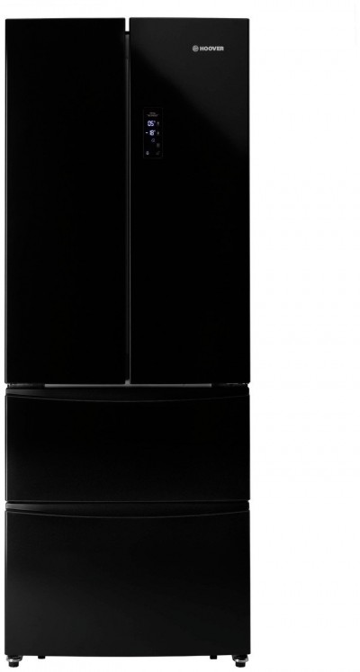 Save £100 at Argos on Hoover HMN7182BK American Fridge Freezer - Black
