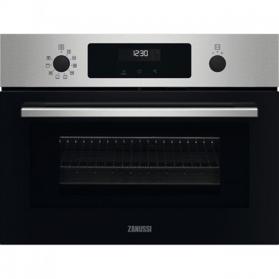 Save £81 at AO on Zanussi ZVENM6X2 Built In Compact Electric Single Oven with Microwave Function - Stainless Steel