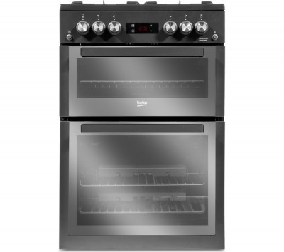 Save £71 at Currys on BEKO Pro XDVG674MT 60 cm Gas Cooker - Anthracite, Anthracite