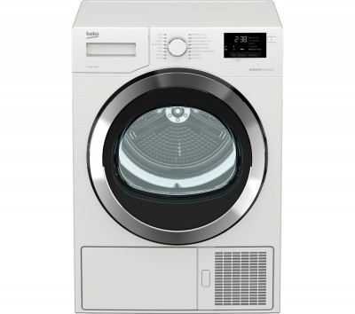 Save £50 at Currys on Beko Tumble Dryer DHX93460W 9 kg Heat Pump - White, White