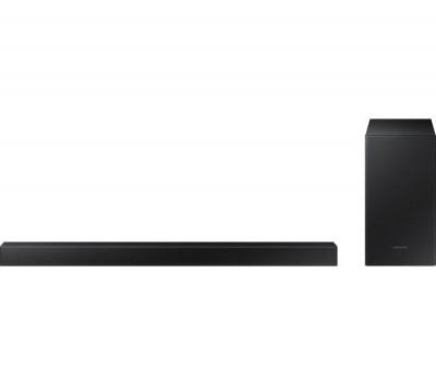 Save £50 at Currys on SAMSUNG HW-T450/XU 2.1 Wireless Sound Bar