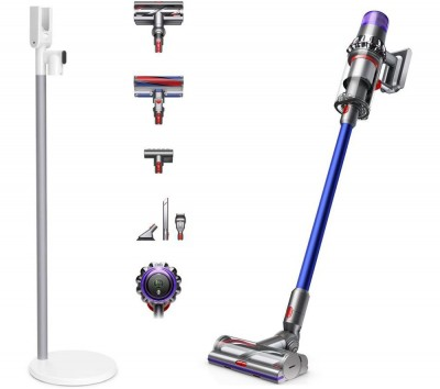 Save £100 at Currys on DYSON V11 Absolute Cordless Vacuum Cleaner & V11 Floor Dock Bundle - Blue, Blue