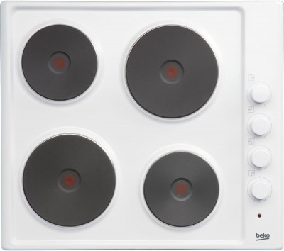Save £20 at Currys on BEKO HIZE64101W Electric Solid Plate Hob - White, White