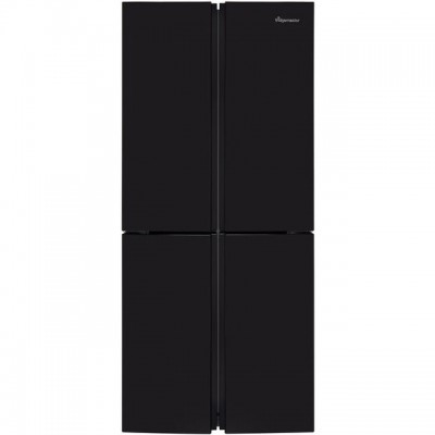 Save £50 at AO on Fridgemaster MQ79394FFB American Fridge Freezer - Black - A+ Rated