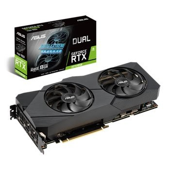 Save £83 at Scan on ASUS NVIDIA GeForce RTX 2070 SUPER 8GB DUAL EVO ADVANCED Turing Graphi