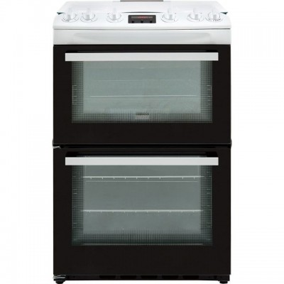 Save £100 at AO on Zanussi ZCG63250WA 60cm Gas Cooker with Full Width Electric Grill - White - A/A Rated