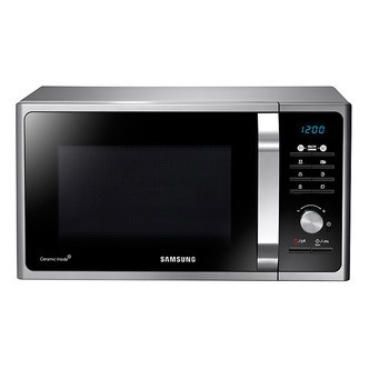 Save £10 at Sonic Direct on Samsung MS23F301TAS Compact Microwave Oven in Silver Tact 23L 800W
