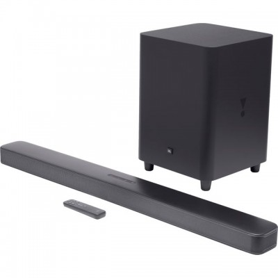Save £100 at AO on JBL Multiroom Bluetooth Soundbar with Wireless Subwoofer - Black