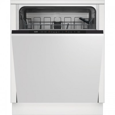 Save £30 at AO on Beko DIN15R20 Fully Integrated Standard Dishwasher - Silver Control Panel - A++ Rated
