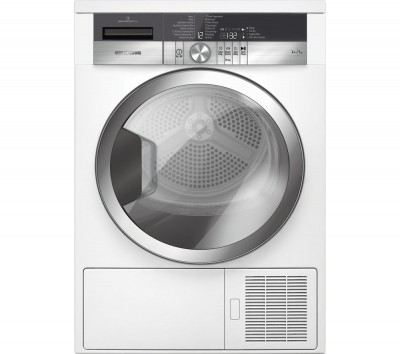 Save £70 at Currys on Grundig Tumble Dryer GTN39250CGCW Heat Pump - White, White