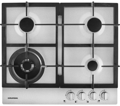 Save £30 at Currys on GRUNDIG GIGA6234250X Gas Hob - Stainless Steel, Stainless Steel