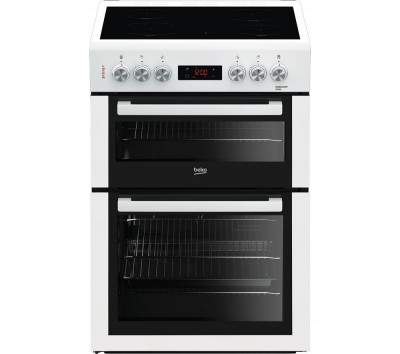 Save £40 at Currys on BEKO XTC653W 60 cm Electric Ceramic Cooker - White, White