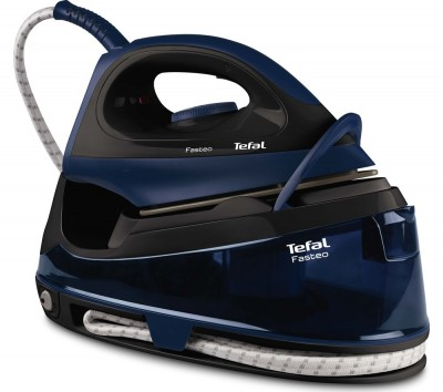 Save £50 at Currys on Fasteo SV6050 Steam Generator Iron ? Black & Blue, Black