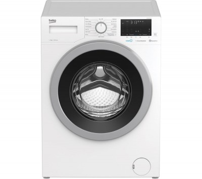 Save £70 at Currys on BEKO WEX840530W Bluetooth 8 kg 1400 Spin Washing Machine - White, White