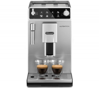 Save £250 at Currys on DELONGHI Autentica ETAM 29.510.SB Bean to Cup Coffee Machine - Silver & Black, Silver