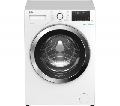 Save £40 at Currys on BEKO AquaTech WEX104064E0W Bluetooth 10 kg 1400 Spin Washing Machine - White, White